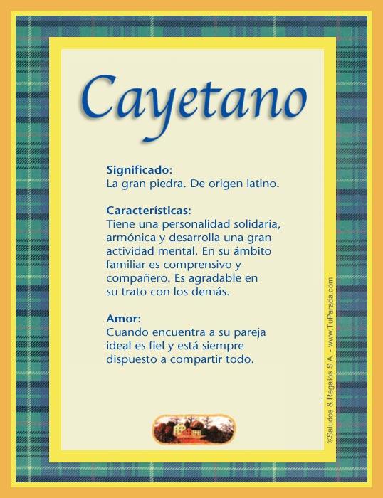 Cayetano C Tarjetas