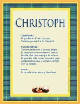 Nombre Christoph