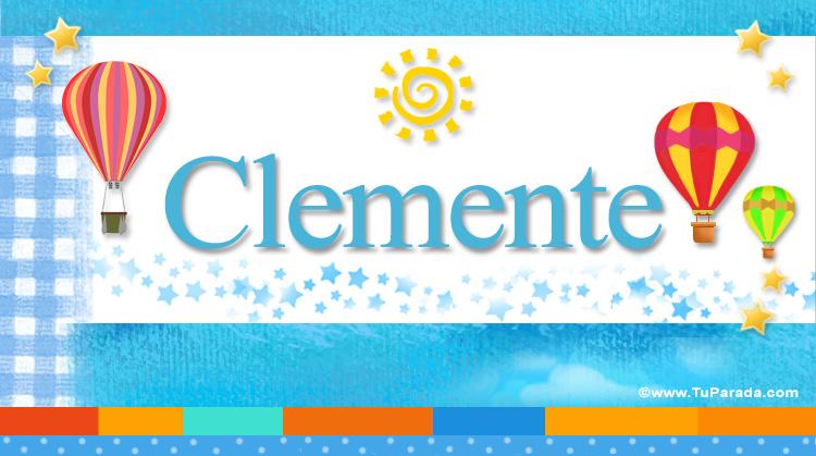 Clemente, imagen de Clemente