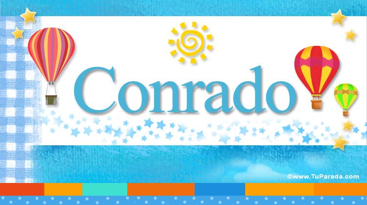 Conrado, imagen de Conrado