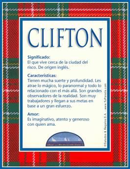 Nombre Clifton