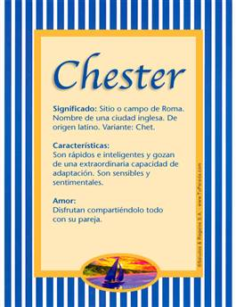 Nombre Chester