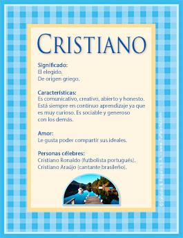 Nombre Cristiano