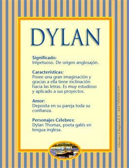 Nombre Dylan