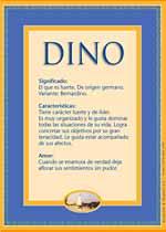 Nombre Dino