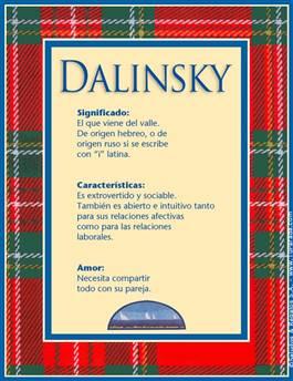 Nombre Dalinsky