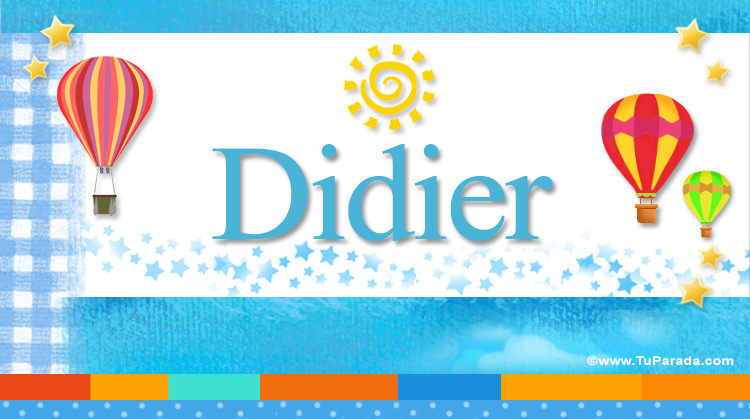 Didier, imagen de Didier