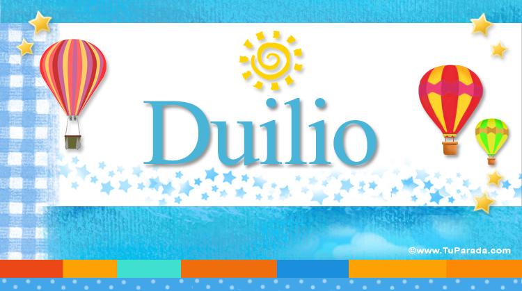 Duilio, imagen de Duilio