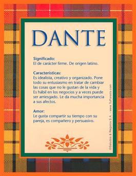 Nombre Dante