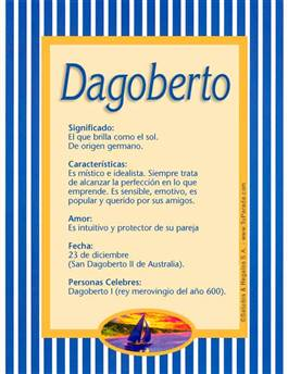 Nombre Dagoberto
