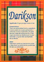 Nombre Darikson