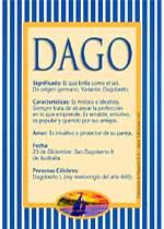 Nombre Dago