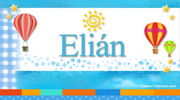 Elián, imagen de Elián
