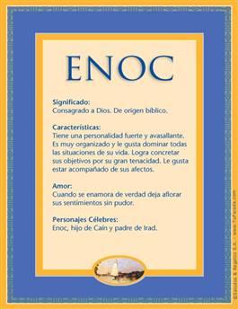 Nombre Enoc