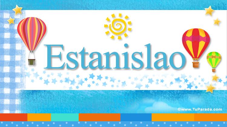 Estanislao, imagen de Estanislao