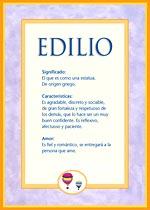 Nombre Edilio