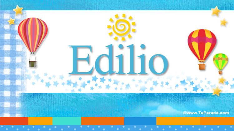 Edilio, imagen de Edilio