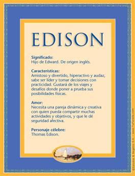 Nombre Edison