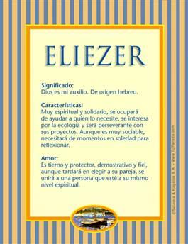 Nombre Eliezer