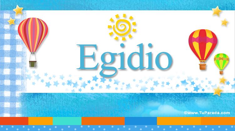 Egidio, imagen de Egidio