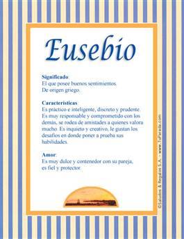 Nombre Eusebio
