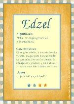 Edzel