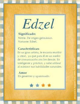 Nombre Edzel