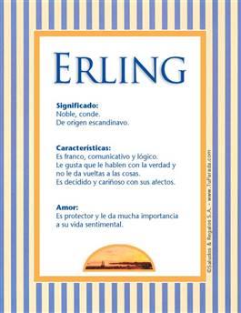 Nombre Erling