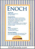 Nombre Enoch