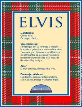 Nombre Elvis