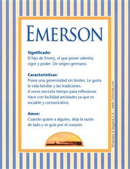Nombre Emerson