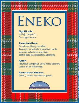 Nombre Eneko