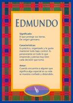 Nombre Edmundo