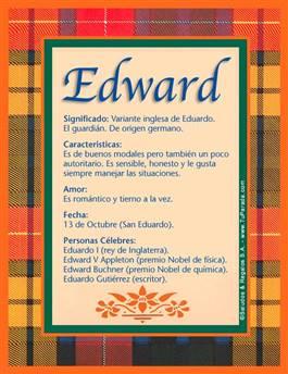 Nombre Edward