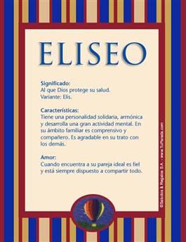 Nombre Eliseo