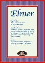 Nombre Elmer