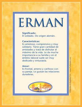 Nombre Erman