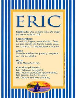 Nombre Eric