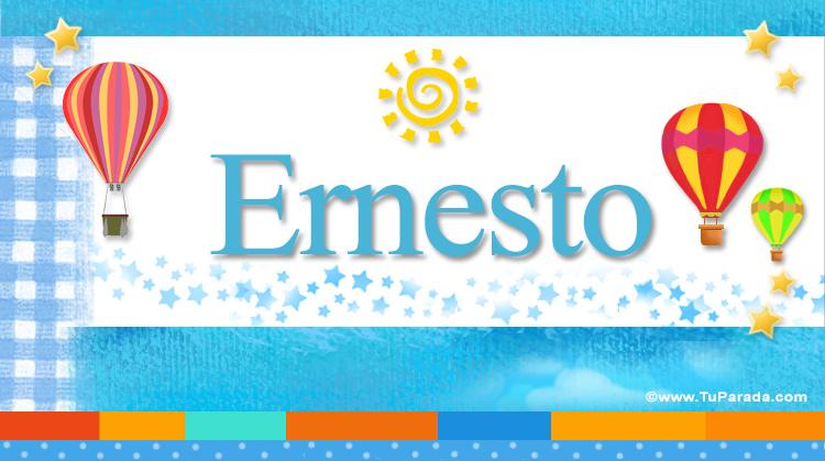 Ernesto, imagen de Ernesto