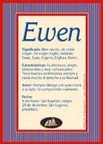 Nombre Ewen