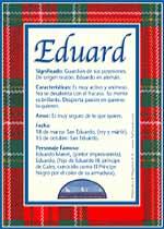 Nombre Eduard