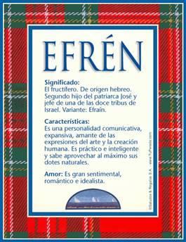 Nombre Efren