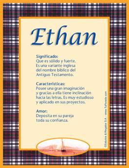 Nombre Ethan