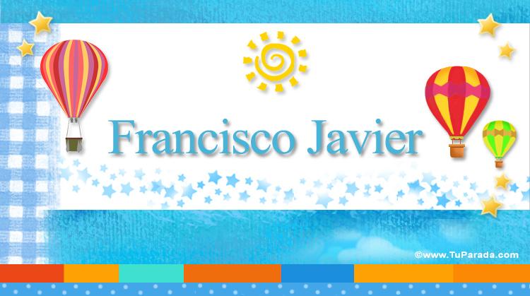 Francisco Javier, imagen de Francisco Javier