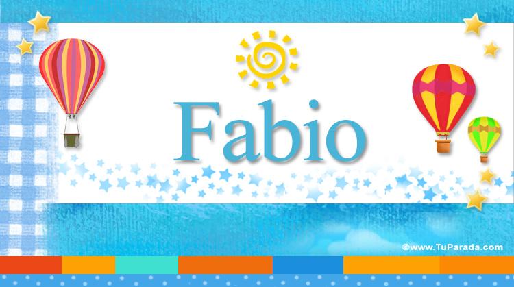Fabio, imagen de Fabio