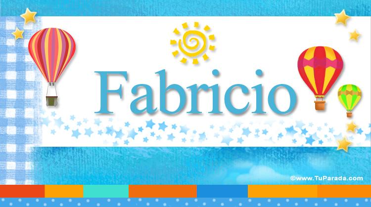 Fabricio, imagen de Fabricio