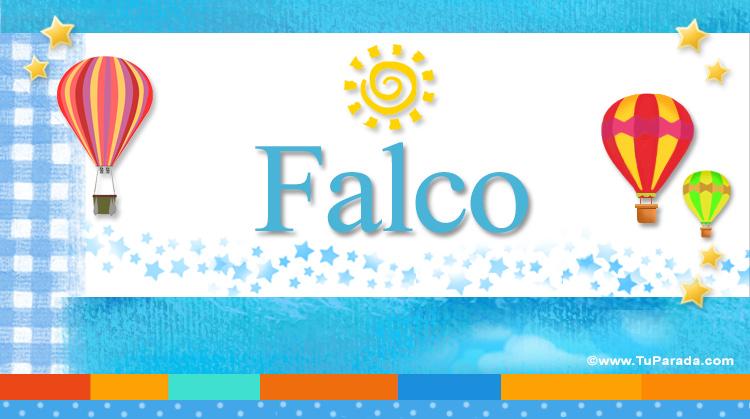 Falco, imagen de Falco