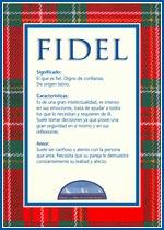 Nombre Fidel