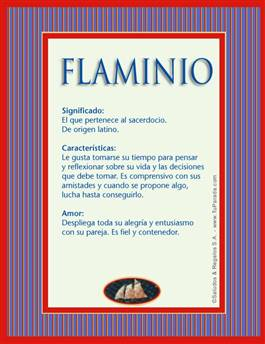 Nombre Flaminio