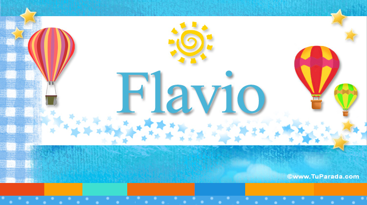 Flavio, imagen de Flavio
